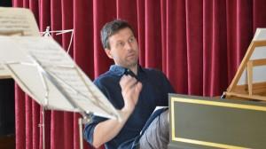 Keyboard accompanist and electronics expert Robin Bigwood